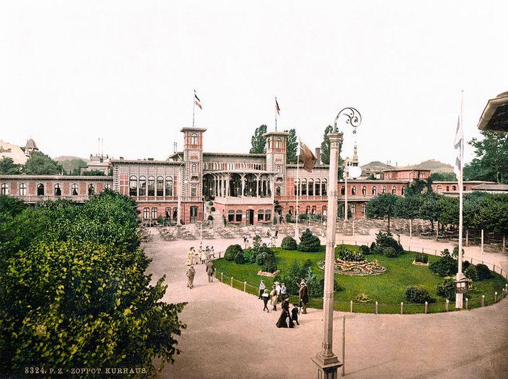 Kurhaus Zoppot um 1900
