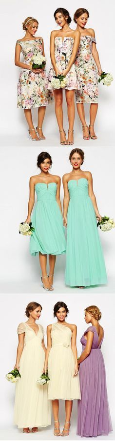 Bridesmaid Dresses that Won't Break the Bank!