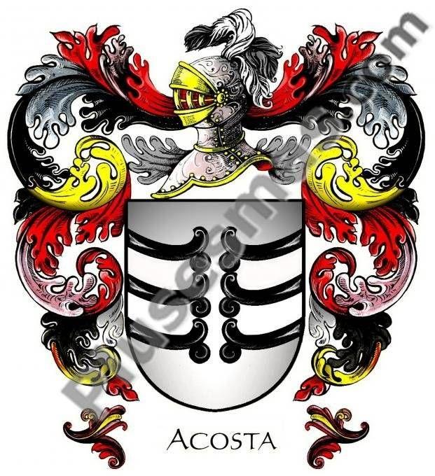 Escudo del apellido Acosta
