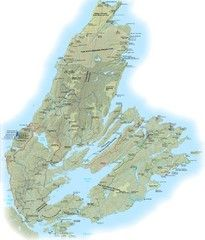 Cape Breton Island Trail Map