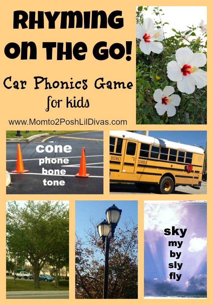 Rhyming On the Go: A Play to Learn Phonics Game - Pinned by @PediaStaff – Please Visit ht.ly/63sNtfor all our pediatric therapy pins