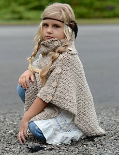 Ravelry: Timberlyn Poncho pattern by Heidi May