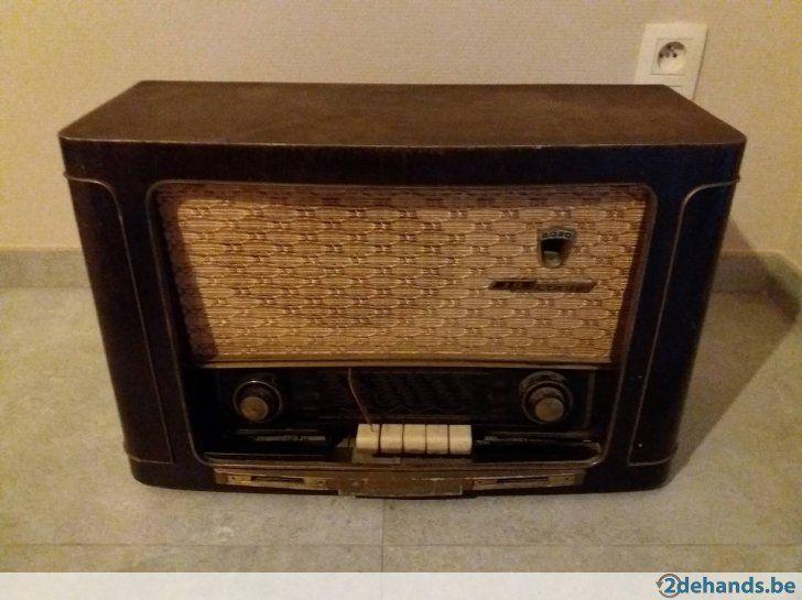 Antieke radio Grundig Klang 3D 2030