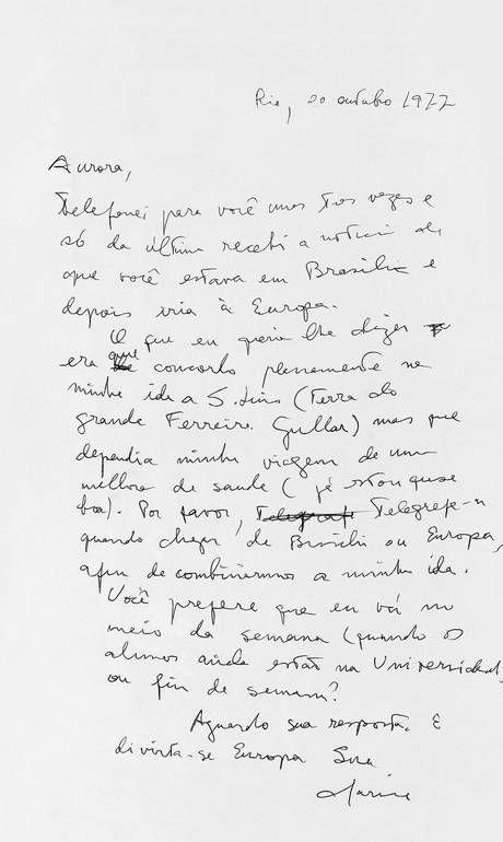 Nova edição de biografia de Clarice Lispector traz manuscritos raros - Jornal O Globo