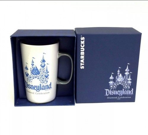 """BUY IT NOW"" ONLY $26.93 ... NEW STARBUCKS DISNEYLAND 60th DIAMOND ANNIVERSARY ""Limited Edition"" COFFEE MUG ""NOW AVAILABLE""-- THESE ARE ONLY AVAILABLE FROM THE ""STARBUCKS COFFEE LOCATION"" INSIDE THE DISNEYLAND RESORT PARKS ... (PLEASE CLICK-ON THE PICTURE FOR MORE DETAILS AND PICTURES)... #STARBUCKS #DISNEYLAND #WaltDisneyWorld #CoffeeMugs #ArtFire #ETSY #EtsyShop #CafeLatte #Disneyland60 #Baristas #BaristaLife #Disneyland60th #MagicKingdom45th #iPHONE7 #iPHONE7Plus #AppleWatch"