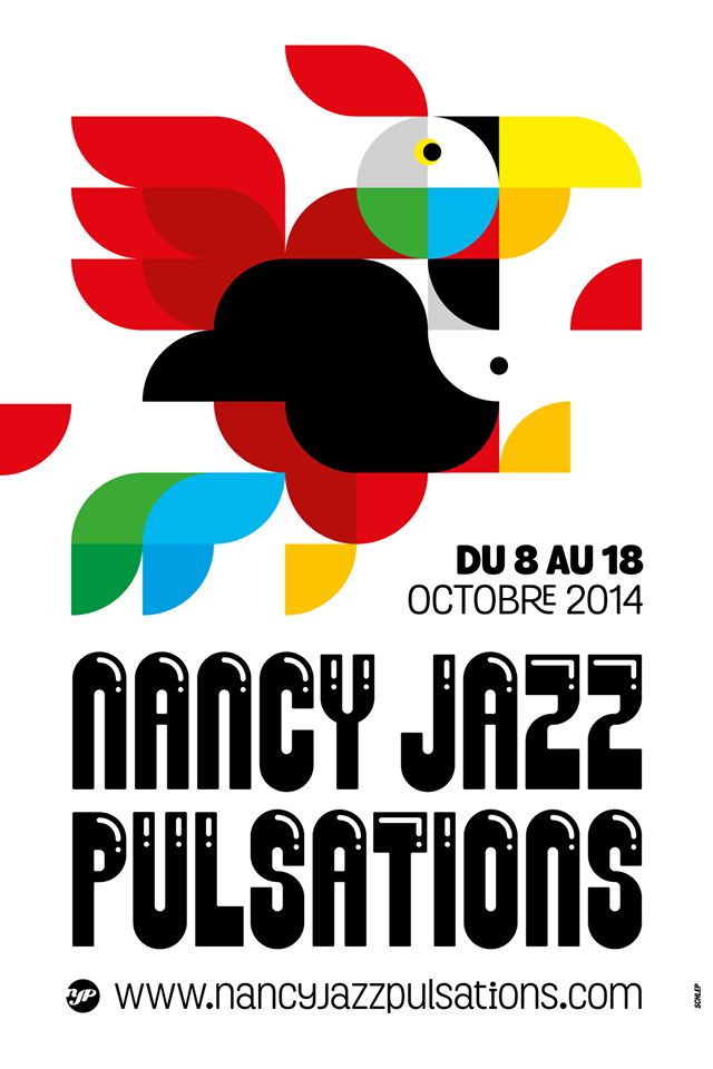 Affiche #NJP 2014 : du 8 au 18 octobre à #Nancy
