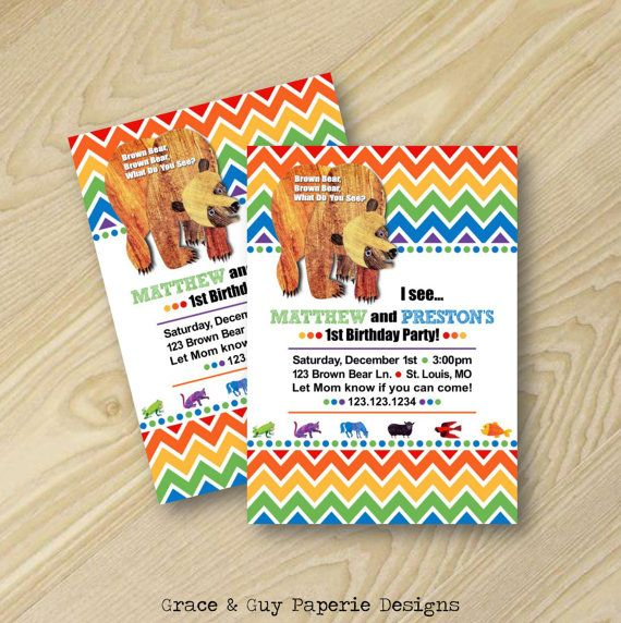 89 best Party Eric Carle images – Eric Carle Birthday Invitations