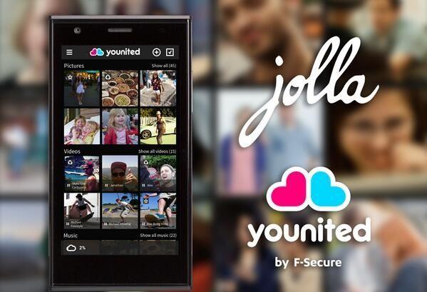 Jolla Younited app! #Jolla #SailfishOs #Younited