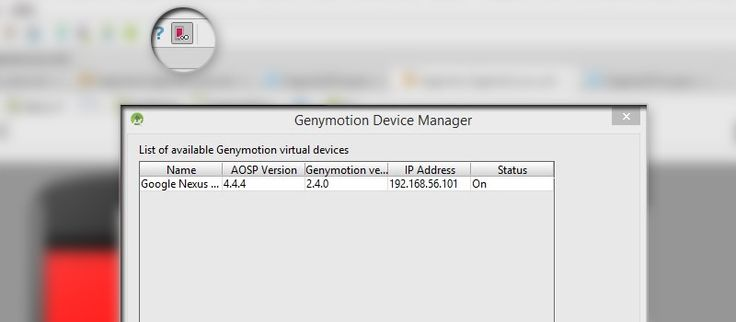 See how to install Genymotion emulator plugin in Android Studio and run the emulator. Installation and configuration requires only few little steps.