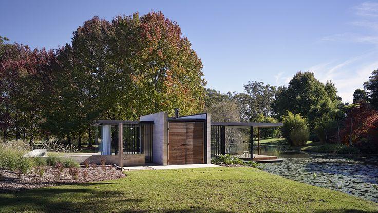 matthew woodward architecture / wirra willa pavilion, somersby nsw