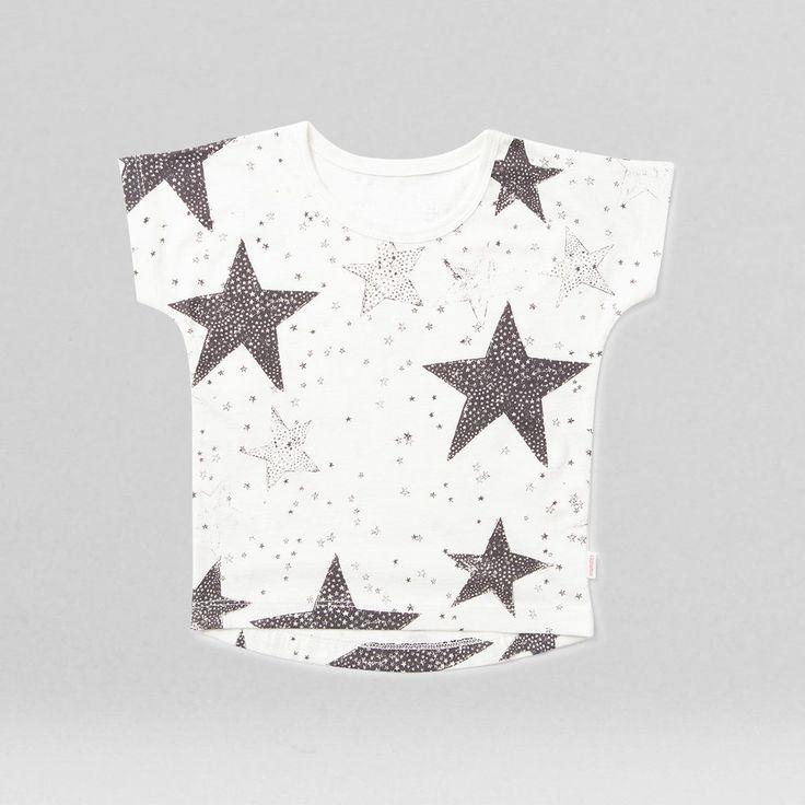 Buy star bright tee shirt cream | munsterkids