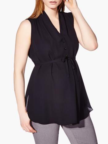 Stork & Babe - Sleeveless Maternity Blouse available at #ThymeMaternity