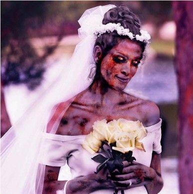 Vestido de novia zombie upgrade