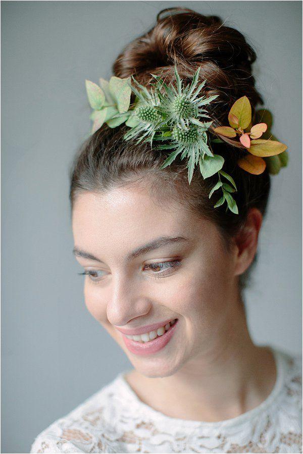 alternative bridal hairstyle | Image by Studio Ohlala