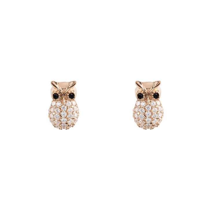 Wise Owl Earring