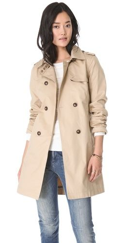 trench coat/ballonkabát - mindenhez jó, tornacipőhöz, balerina cipőhöz , farmerhoz, szoknyához... örök darab!