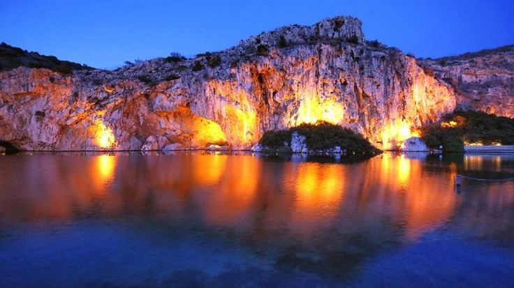 Explore the mystery of the sunken Vouliagmeni Lake, while staying at the Arion Resort  Spa, Astir Palace Resort. More: http://www.arionresortathens.com/en/places#VouliagmeniLake #familyexcursion #ArionResortAthens #AstirPalace
