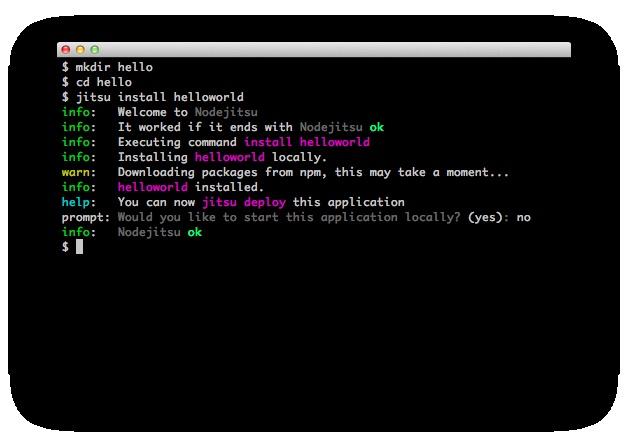 Node.js cloud hosting