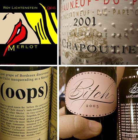 Awesome collection of Wine Labels
