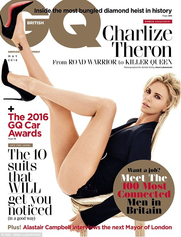 Charlize Theron blasts sexist attitude to ageing on GQ cover issue | Daily Mail Online