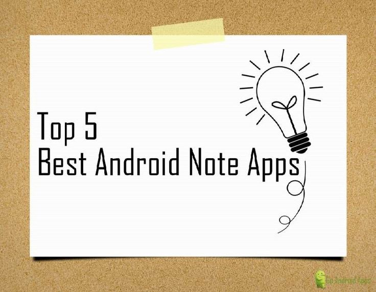 Top 5 Best Android Note Apps - http://appinformers.com/top-5-best-android-note-apps/1015/