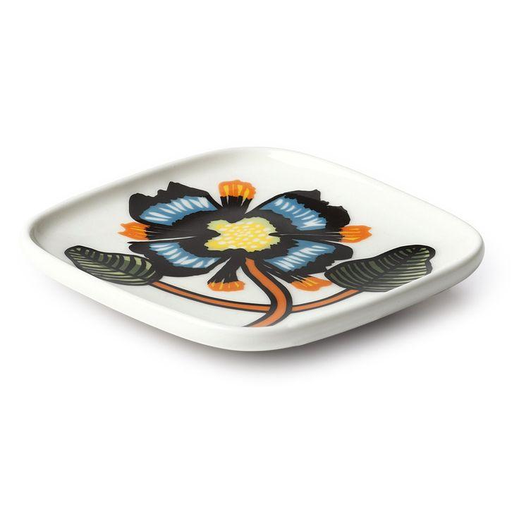 Tiara tallerken fra Marimekko. En flott tallerken til å servere middagen på, flott å dekke på et fes...