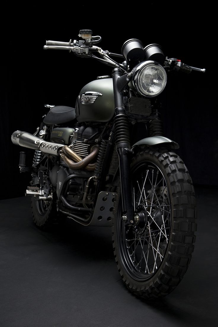 The Jurassic World Triumph Scrambler has been plastered all over Hollywood, leading up to the movie's release earlier this month. It was hard not to...