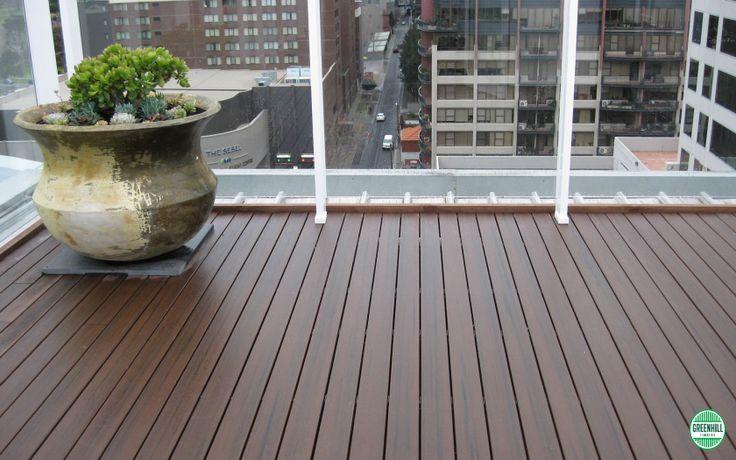 Modwood Composite Decking. Black Bean. (03) 9465 9875 www.greenhilltimbers.com.au