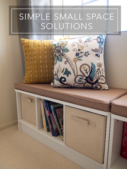 Best 25 Small Space Solutions Ideas On Pinterest Small Apartment Organization Small