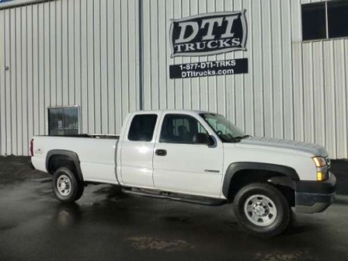 2006 Chevy Silverado K3500 Extended Cab Pickup Truck, Vortec 8.1L Gas Engine With 330 HP More info: http://equipmentready.com/details/2006_pickup_chevrolet_silverado+3500-5540332 #truck