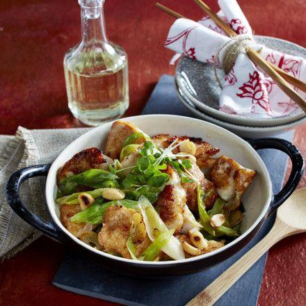 Glasiertes Huhn in Hoisin-Soße aus dem Wok Rezept | LECKER