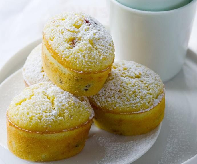 Lemon And Cranberry Friands Recipe With Images Friands