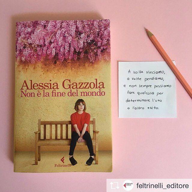 Iniziare bene la settimana: oggi (e solo oggi) #NonÈLaFineDelMondo è in promo ebook! __ #repost @feltrinelli_editore Una pillola di saggezza che ci offre Emma De Tessent perfetta per iniziare il lunedì. Avete già iniziato a leggere la storia di Emma protagonista del nuovo romanzo di Alessia Gazzola? #NonÈLaFineDelMondo #Libri #Romanzi #Lettura #Leggere #Bookstagram #FeltrinelliEditore #Feltrinelli : @feltrinelli_editore