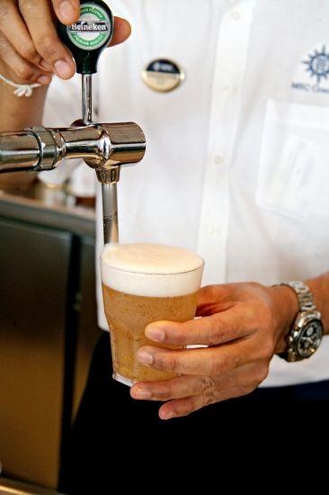 #MSCKreuzfahrten #Bier