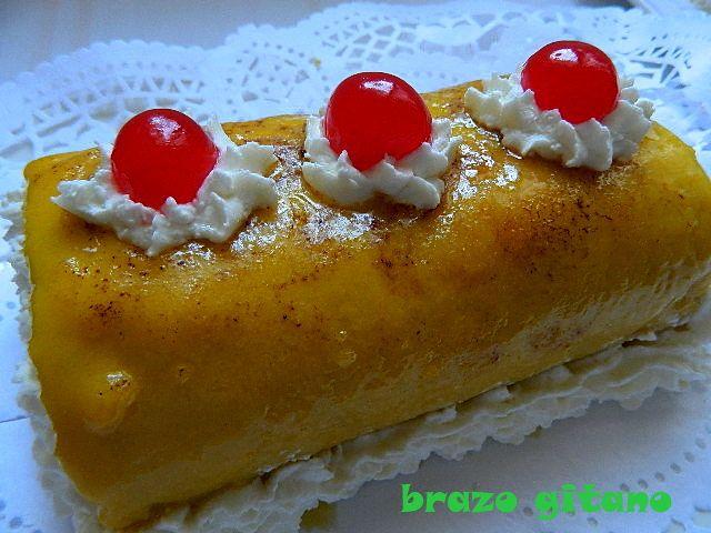 las recetas de mi abuela: BRAZO GITANO CLÁSICO