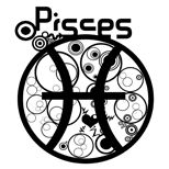Aquarius, Cancer (the kids), and me Pisces tattoos. Simple symbol for each on foot/feet~st