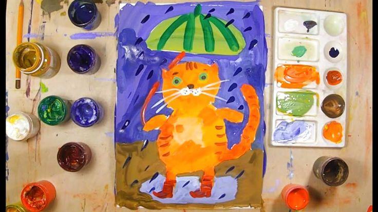 Рисунок красками для детей 4-5 лет, евреями