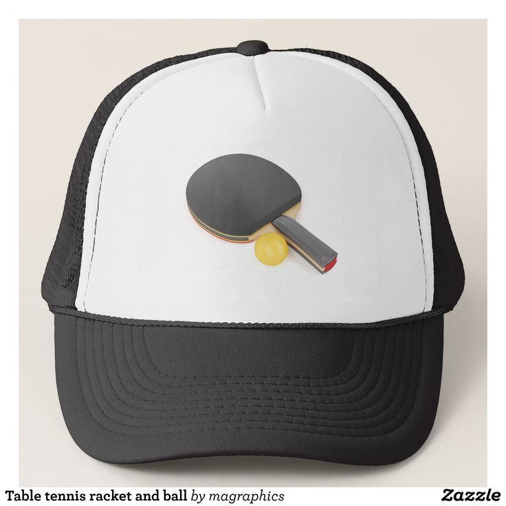 Table tennis racket and ball trucker hat - Urban Hunter Fisher Farmer Redneck Hats By Talented Fashion And Graphic Designers - #hats #truckerhat #mensfashion #apparel #shopping #bargain #sale #outfit #stylish #cool #graphicdesign #trendy #fashion #design #fashiondesign #designer #fashiondesigner #style