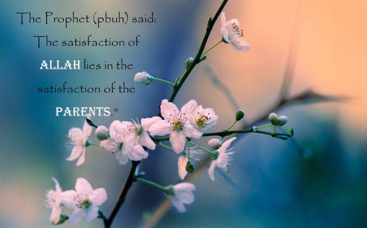 Allah's satisfaction.