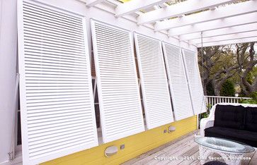 Bahama Shutters tropical windows