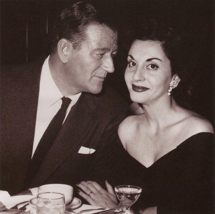 John & Pilar Wayne
