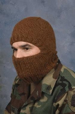 Knitted Helmetliner (or Balaclava)