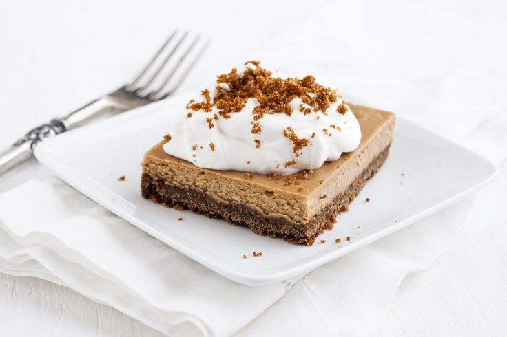 cappuccinO cheesecake bars | cheese cakes | Pinterest