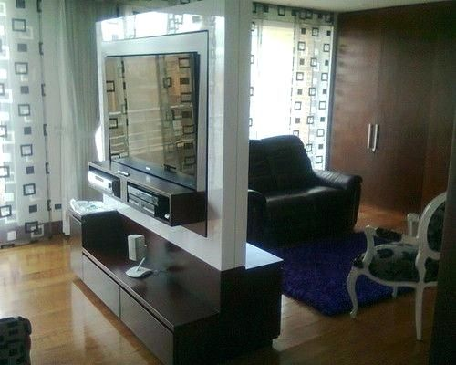 Tv Unit In Middle Of Room Divider Cabinet Google Search