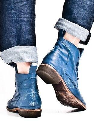 seth brundle | men's life: Diesel Boots  Gah expensive. amazing color.
