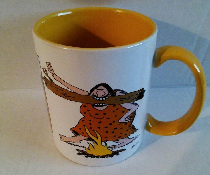 The Far Side Gary Larson Caveman Arts And Leisure Coffee