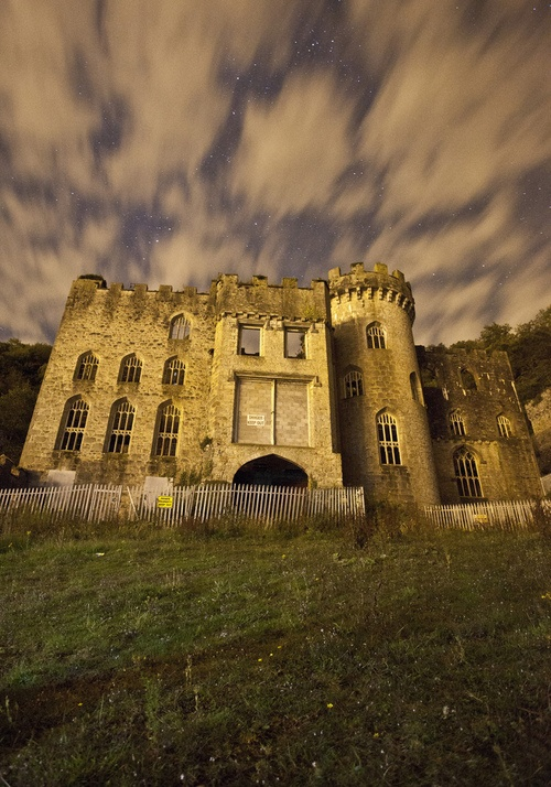 Gwrych Castle (by [Nocturne]) Wales, UK
