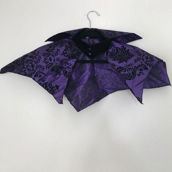 """LIP SERVICE Costume Vault """"Velvet Vamp"""" collar #82-1"""