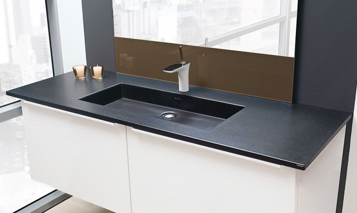 KUMA Square 90 vask i Rector® Galaxy.