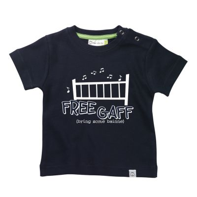 'Free Gaff' Babies T-Shirt by Hairy Baby